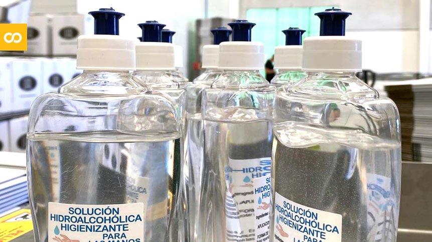 Cruzcampo facilita 13.000 botellas de solución hidroalcohólica a bares de Sevilla y Málaga ⚡ [ Loopulo ]