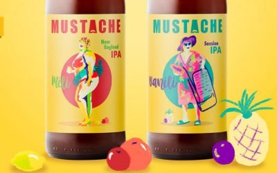 Mili y Vanili, las dos nuevas cervezas de la cervecera gallega Mustache