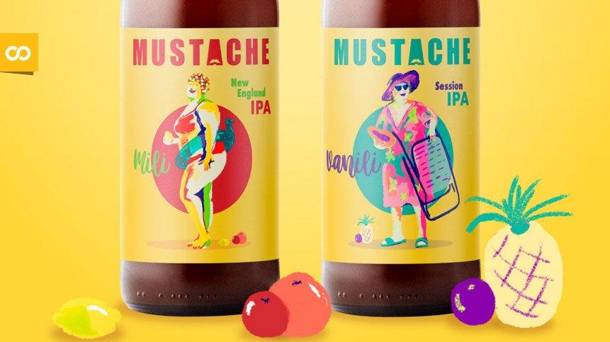 Mili y Vanili, las dos nuevas cervezas de la cervecera gallega Mustache – Loopulo