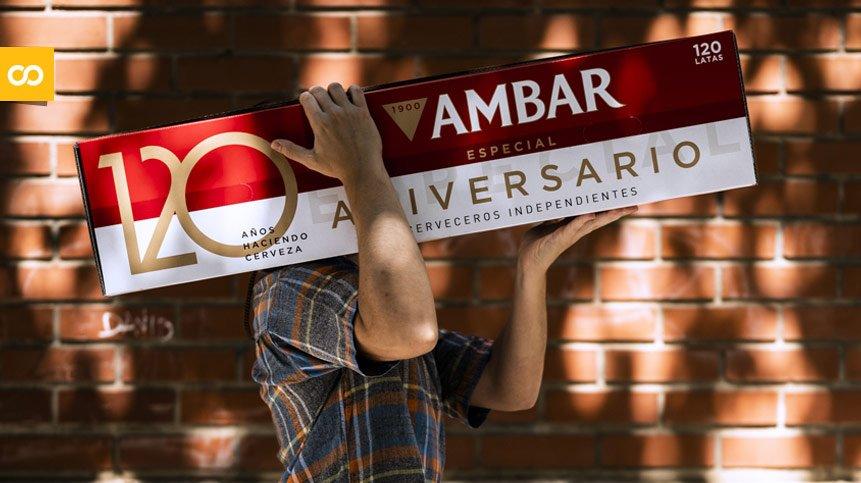 Ambar lanza el pack gigante de cervezas por su aniversario – Loopulo