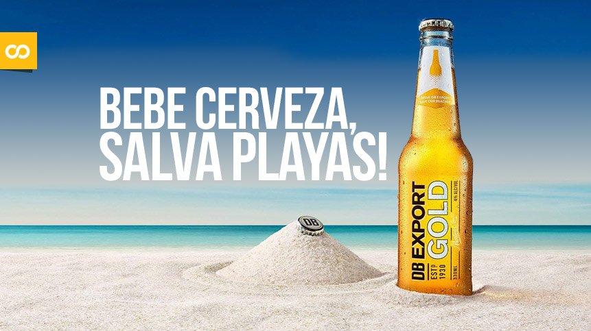 Crean máquina que convierte botellas de cerveza en arena para la playa – Loopulo