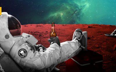 Así será cultivar y elaborar cerveza en Marte dentro de 100 años