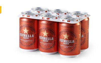 Estrella Damm anuncia la eliminación de las anillas de plástico en su nuevo spot