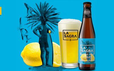 La Sagra estrena cerveza radler elaborada con limón natural