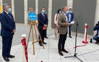 El alcalde de Bilbao inaugura el Paseo Lucía Yarza en recuerdo de la fundadora de LA SALVE
