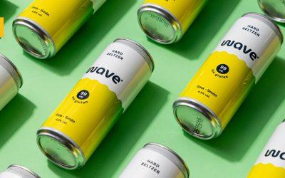 Wave, la nueva marca de Hard Seltzer de Cervecera Península