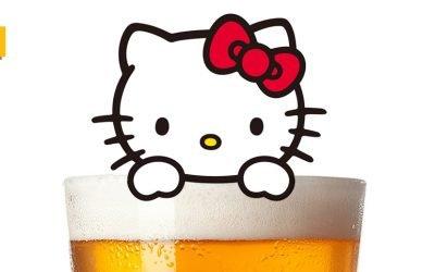 Hello Kitty ya tiene (también) su propia cerveza
