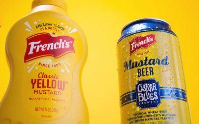 Oskar Blues y French's lanzan al mercado la primera cerveza de mostaza