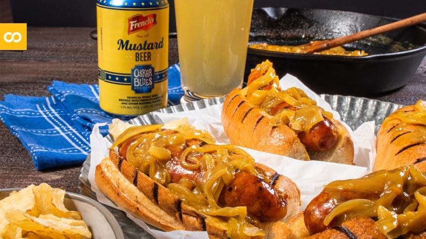 Oskar Blues y French's lanzan al mercado la primera cerveza de mostaza - Loopulo