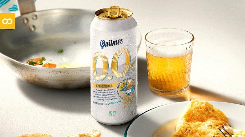 La cervecera argentina Quilmes lanza al mercado Quilmes 0,0% - Loopulo