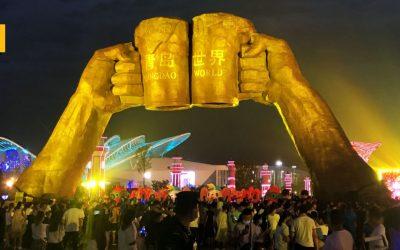 El Oktoberfest más grande del mundo de este año ha tenido lugar en China