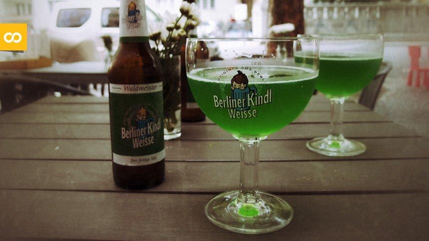 Berliner Kindl Weisse Original, de Berliner Kindl Schultheiss Brauerei | Loopulo