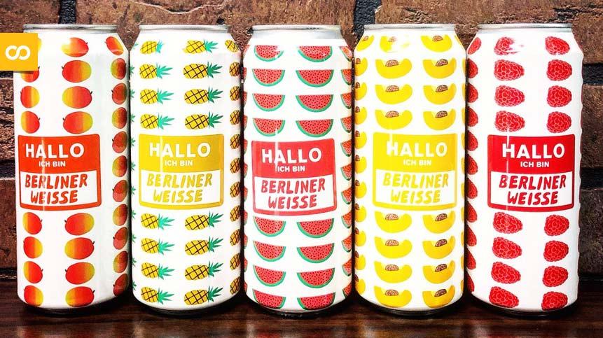 Hallo Ich Bin Berliner Weisse Pineapple, de Mikkeller | Loopulo