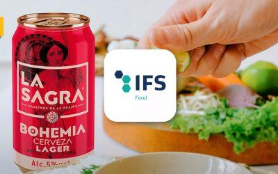 Cerveza LA SAGRA obtiene el certificado de calidad IFS