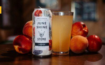 StoneShine: JuneShine y Stone Brewing se unen para crear una Hard Kombucha