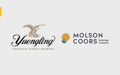 Yuengling se asocia con Molson Coors para llevar sus cervezas más allá de la costa este