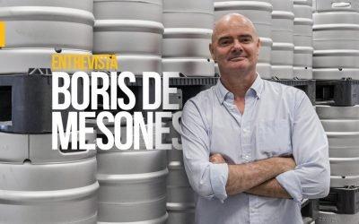 """Boris de Mesones: """"Ni nuestro posicionamiento ni nuestra cerveza es low cost. Tenemos un solo producto, en un formato, y un único canal"""""""