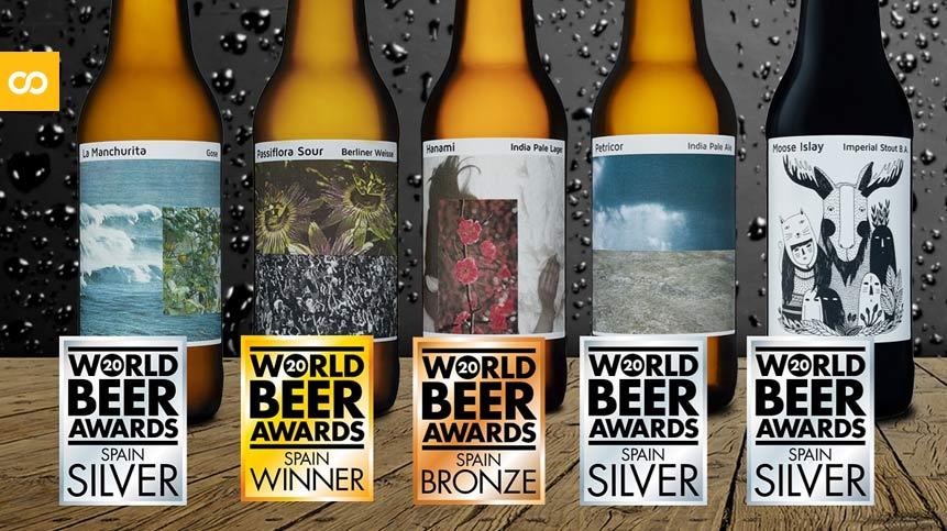 Nómada Brewing obtiene 5 medallas en World Beer Awards 2020 - Loopulo