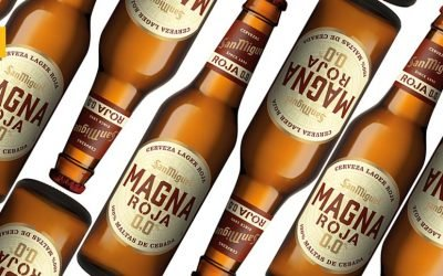 Magna Roja 0,0: La nueva propuesta sin alcohol de Cervezas San Miguel