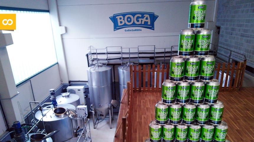 Basque Fresh Hops: Boga lanza una Double IPA con lúpulo fresco del País Vasco | Loopulo