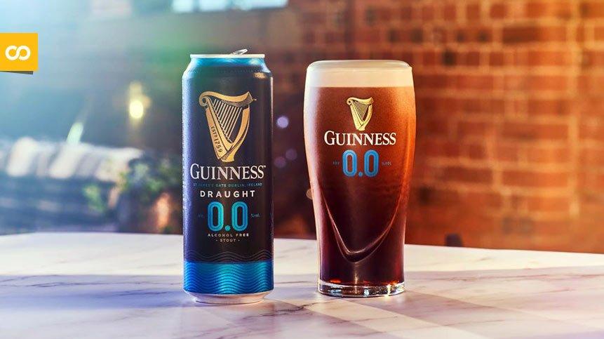 Guinness 0.0, la versión sin alcohol de su famosa cerveza Stout es ya una realidad - Loopulo