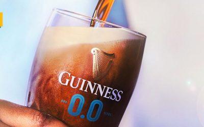 Guinness 0.0, la versión sin alcohol de su famosa cerveza Stout es ya una realidad