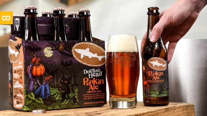 Punpkin Ale Brown Ale de Dogfish Head | Loopulo