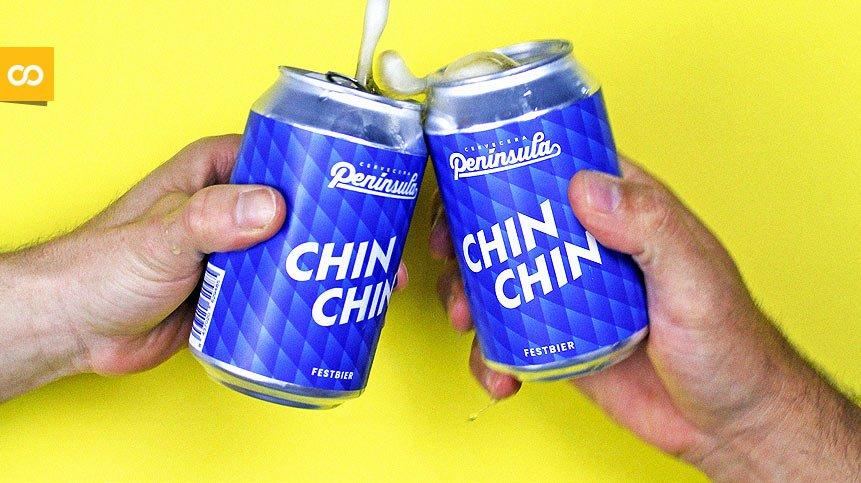 Chinchín, la nueva birra de Cervecera Península nace para ayudar a los bares - Loopulo