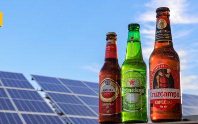 HEINEKEN España, la primera cervecera española que elabora todas sus cervezas con energía solar
