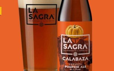 LA SAGRA Calabaza Pumpkin ALE, vuelve este otoño con nueva imagen