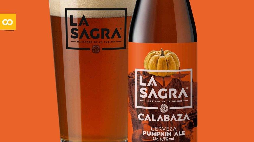 LA SAGRA Calabaza Pumpkin ALE, vuelve este otoño con nueva imagen - Loopulo