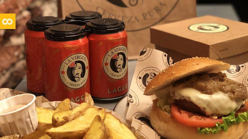 Cervezas La Virgen lanza su servicio a domicilio - Loopulo