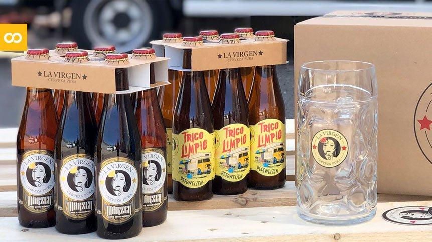 Cervezas La Virgen ya tiene Delivery a través de su propia App | Loopulo
