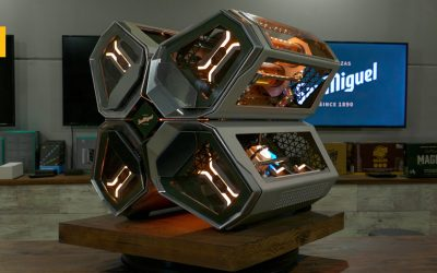 San Miguel crea un ordenador de diseño futurista para gamers