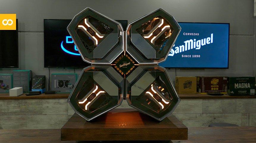 San Miguel presenta su ordenador inspirado en una fábrica de cerveza futurista - Loopulo