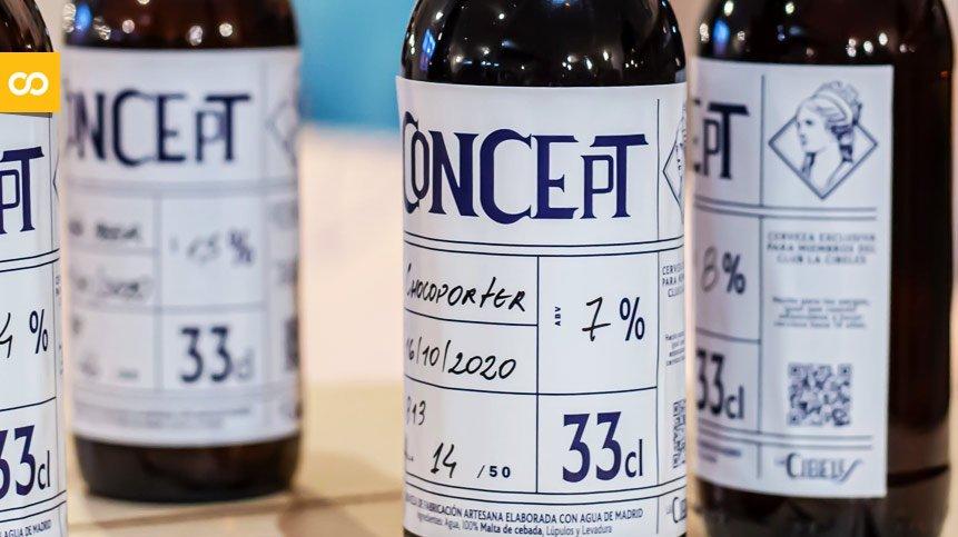 Chocoporter y Table Beer, las nuevas cervezas del Club La Cibeles | Loopulo
