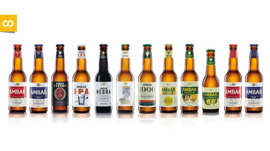 Variedades de cervezas Ambar | Loopulo