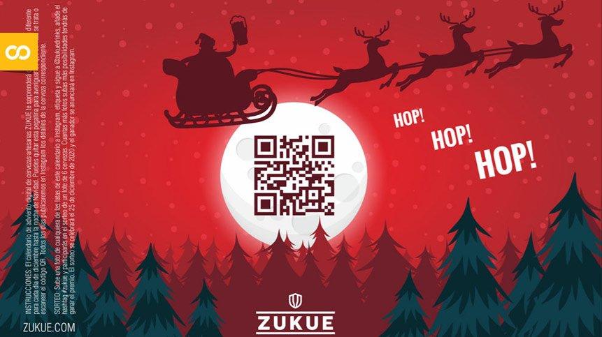 Zukue lanza el primer calendario de Adviento digital con cervezas artesanas   Loopulo
