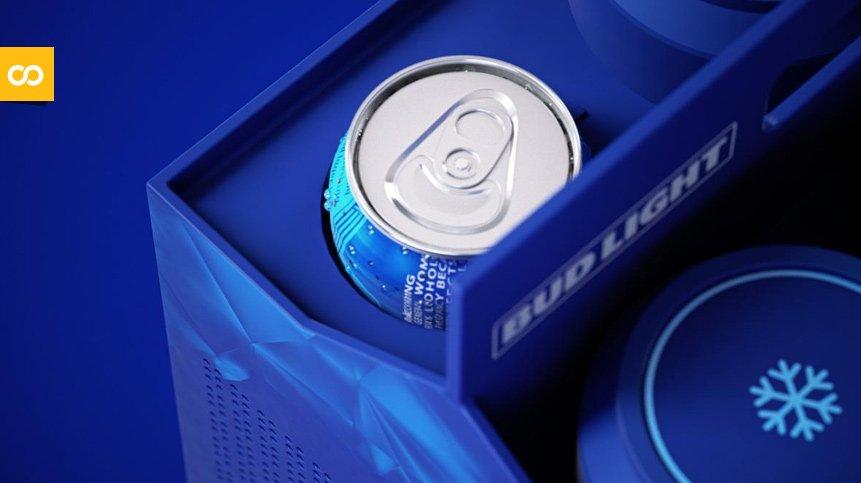 BL6, la consola de Bud Light que además te enfría las cervezas | Loopulo