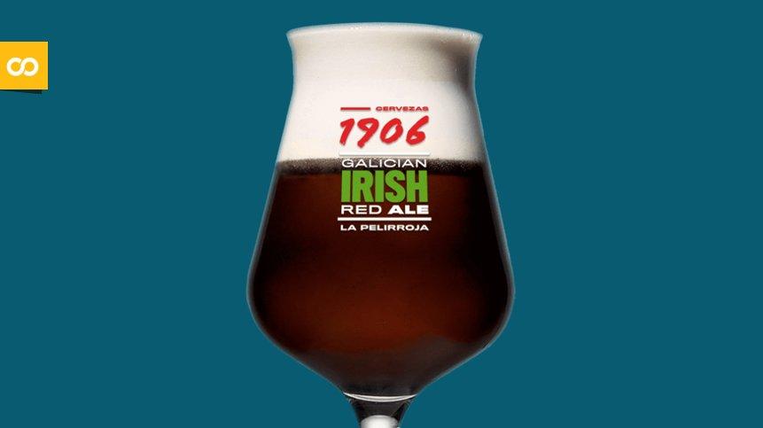 1906 Galician Irish Red Ale, La Pelirroja de Hijos de Rivera | Loopulo