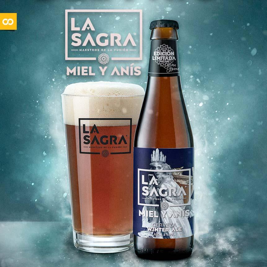 LA SAGRA Miel y Anís: Vuelve la Winter Ale con nueva imagen | Loopulo