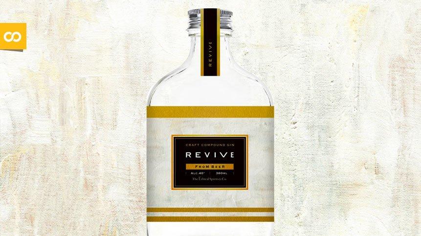 REVIVE Gin, una ginebra elaborada con 80.000 Budweiser | Loopulo