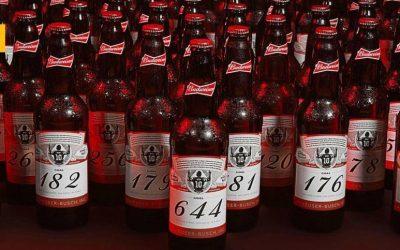 Budweiser celebra el histórico récord de Messi con una edición especial de 644 botellas numeradas