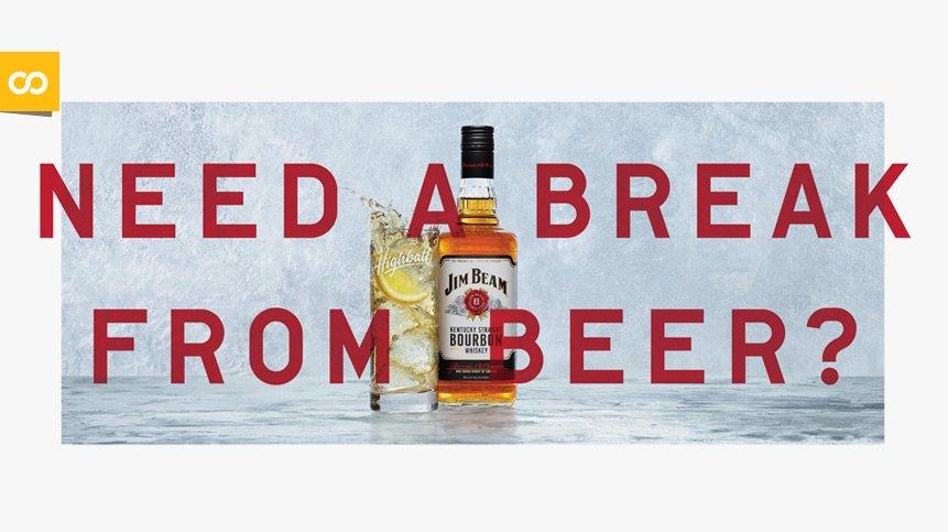 Jim Beam quiere captar a cerveceros aburridos... Loopulo
