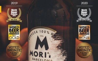 Moritz 7 vuelve a ser una de las cervezas más premiadas de España