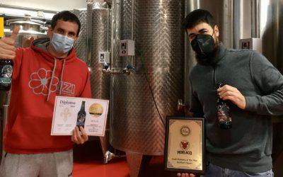 La cervecera artesana Morlaco cierra 2020 con dos premios europeos