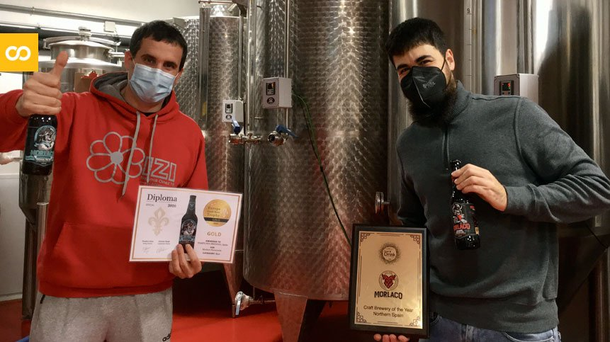 La cervecera artesana Morlaco cierra 2020 con dos premios europeos   Loopulo