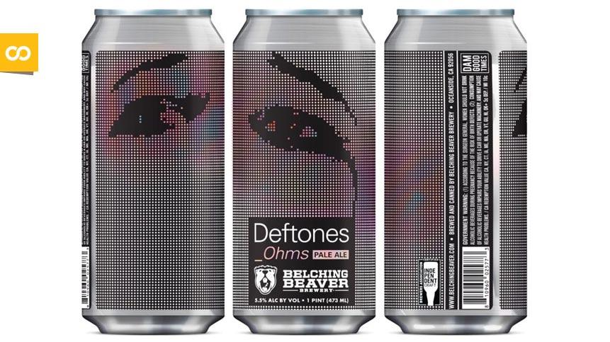 Ohms Pale Ale, la nueva craft de Deftones y Belching Beaver Brewery - Loopulo