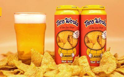Taco Works y Tio Rodrigo lanzan la primera cerveza con nachos del mundo
