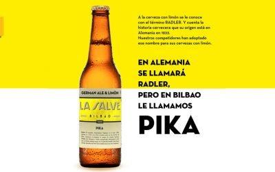 LA SALVE Pika, una mezcla tradicional de cerveza con limón natural exprimido
